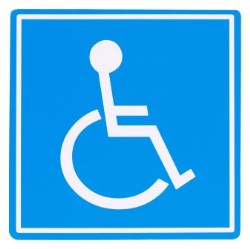 Person with disability logo