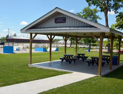 Community Centre Sheltered Picnic Area