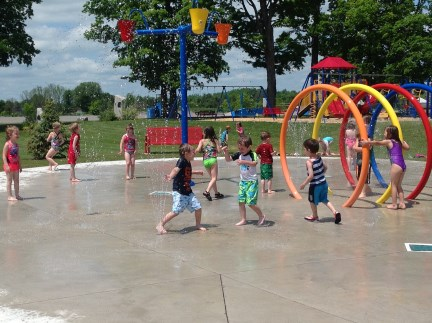 Community Centre Splash Pad